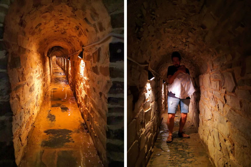 cloaca romana de Astorga