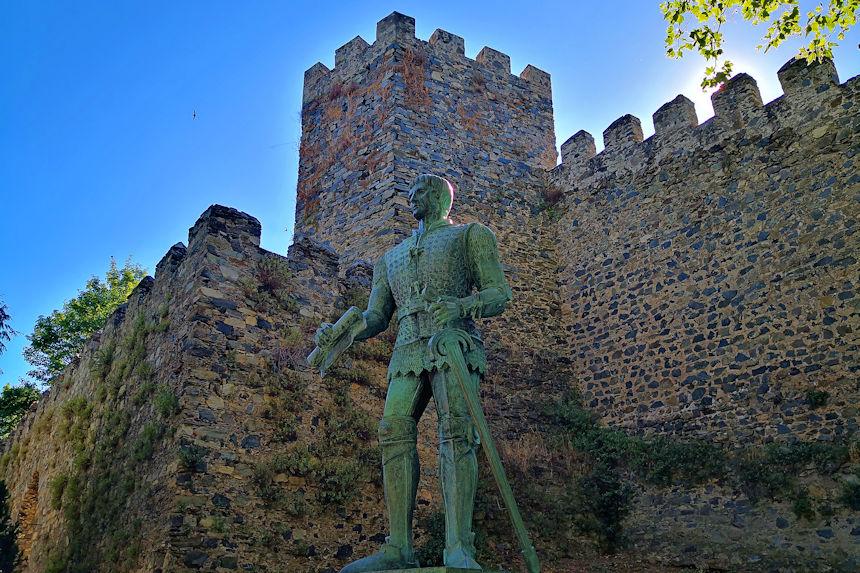 Estatua del II Duque de Bragança