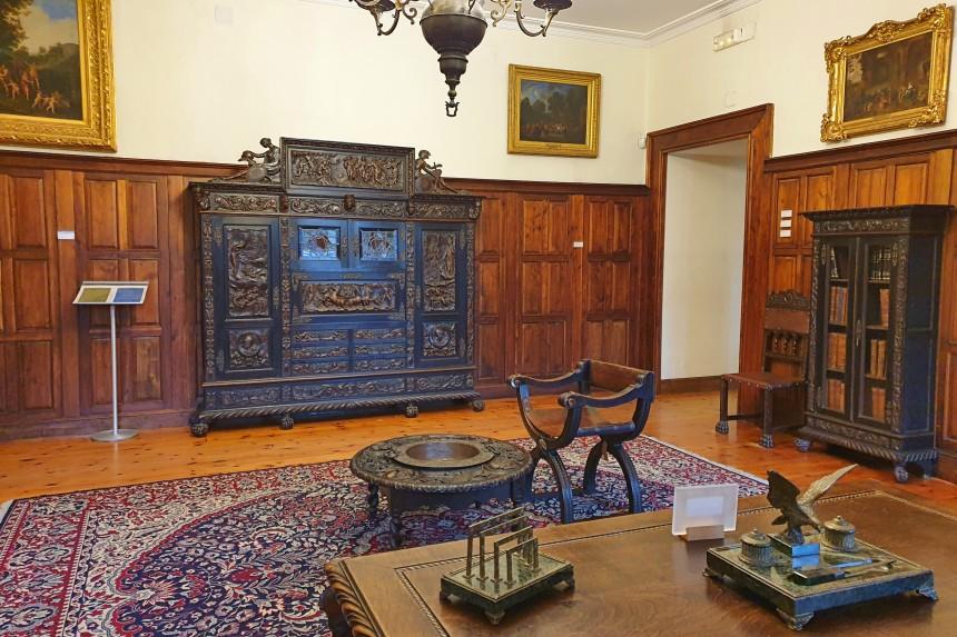 interior del museo Quiñones de León