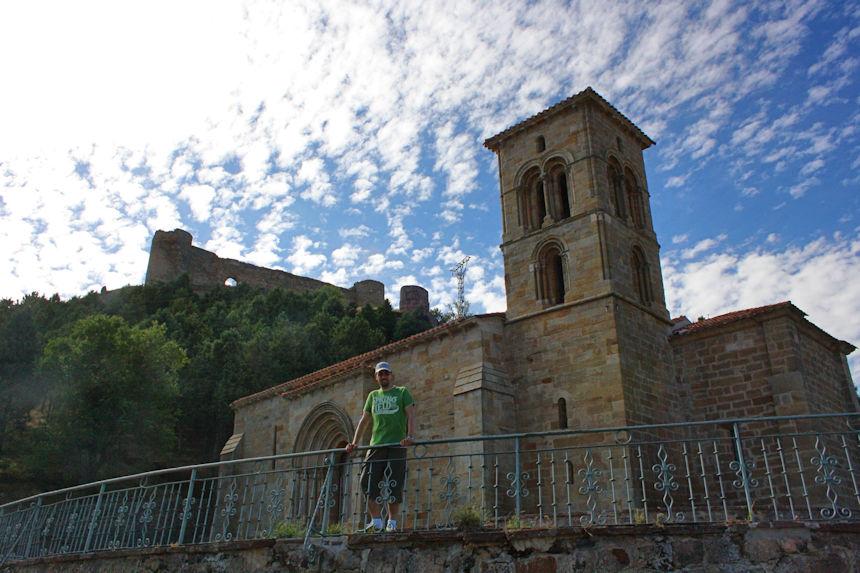 mapaymochila descubriendo el románico en Aguilar de Campoo