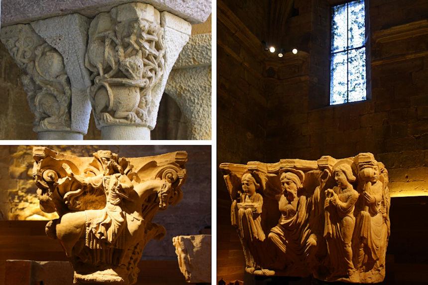Museo del Románico (ROM) en el Monasterio de Santa María la real