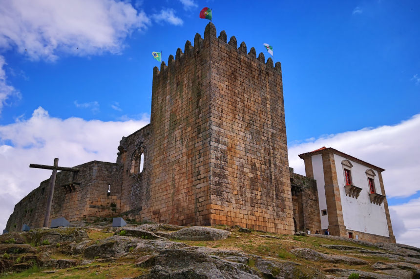 Castillo de Belmonte en Portugal