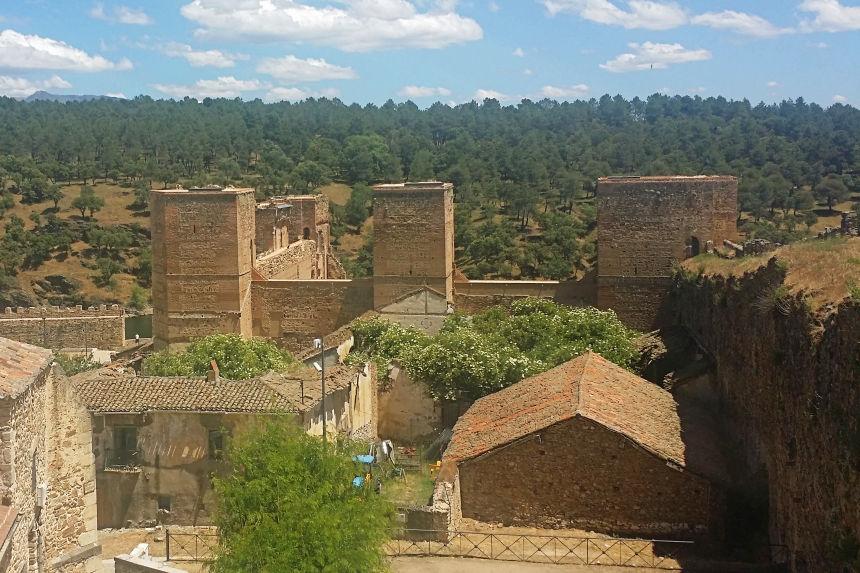 Castillo de Buitrago del Lozoya, el Alcázar de los Mendoza