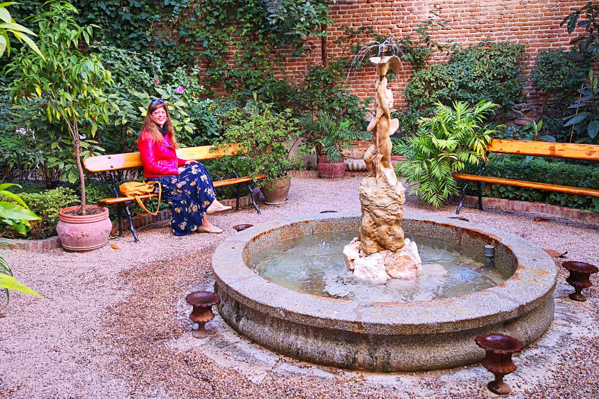 El Jardín del Magnolio en el Museo del Romanticismo