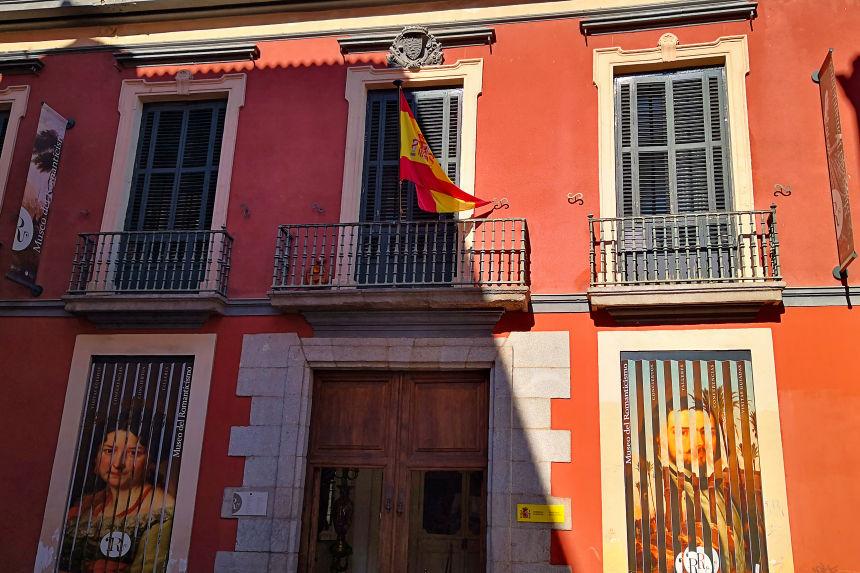 fachada del Palacio del Marqués de Matallana, sede el Museo del Romanticismo