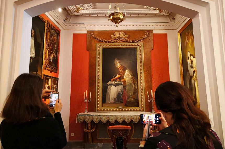 Sala XIII, el Oratorio
