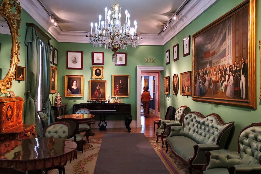 Sala XVIII del Museo del Romanticismo de Madrid