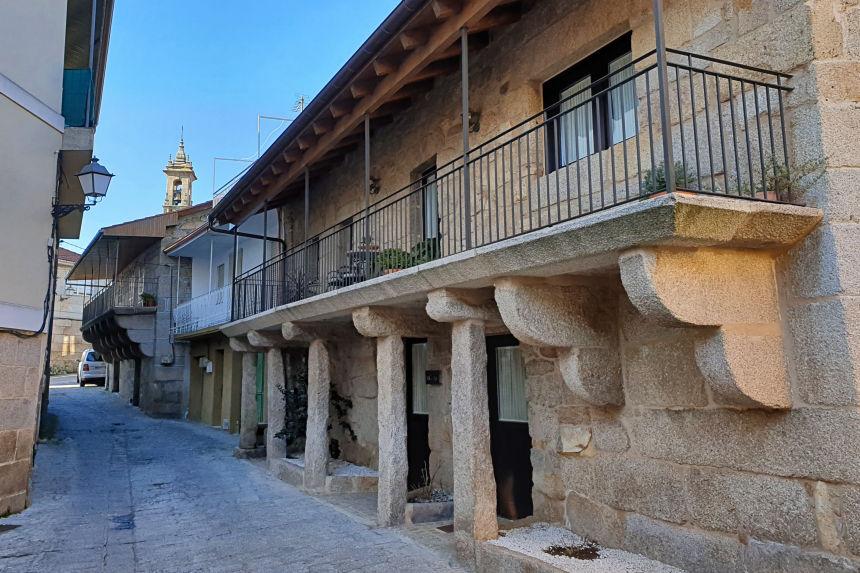casas tradicionales de Seixalbo