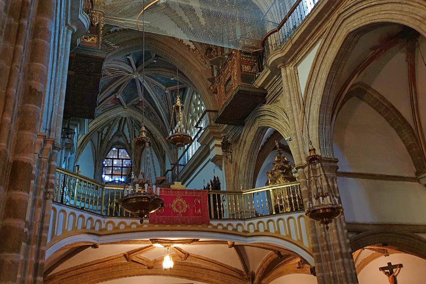 coro alto de la iglesia del Real Monasterio