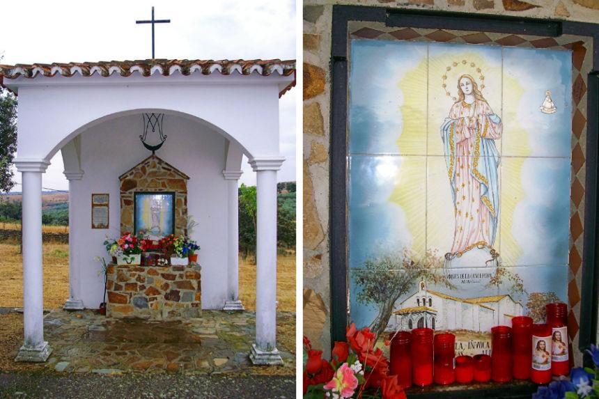 ermita a la Virgen de la Inmaculada en Alía