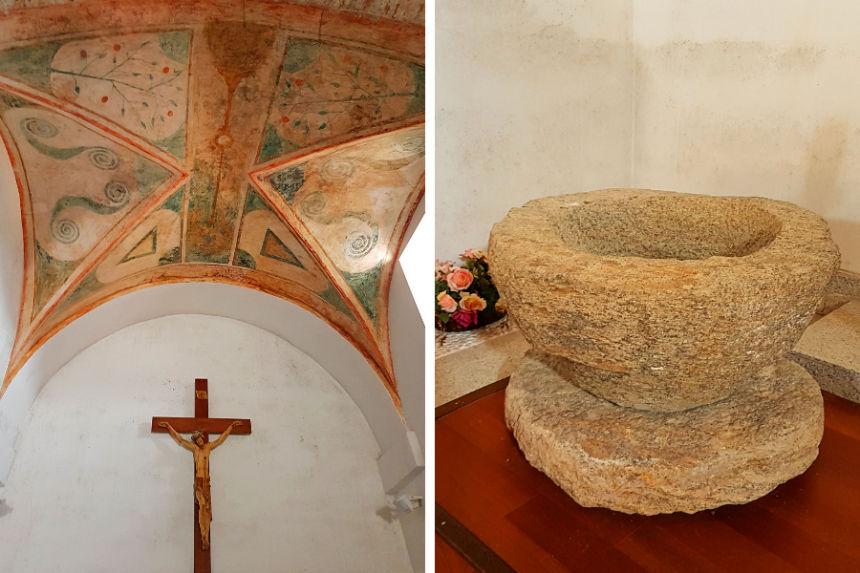 interior de la Iglesia de San Miguel Arcángel