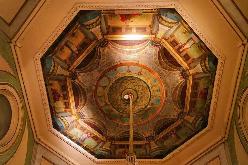 techo de la Antecámara (Sala II)