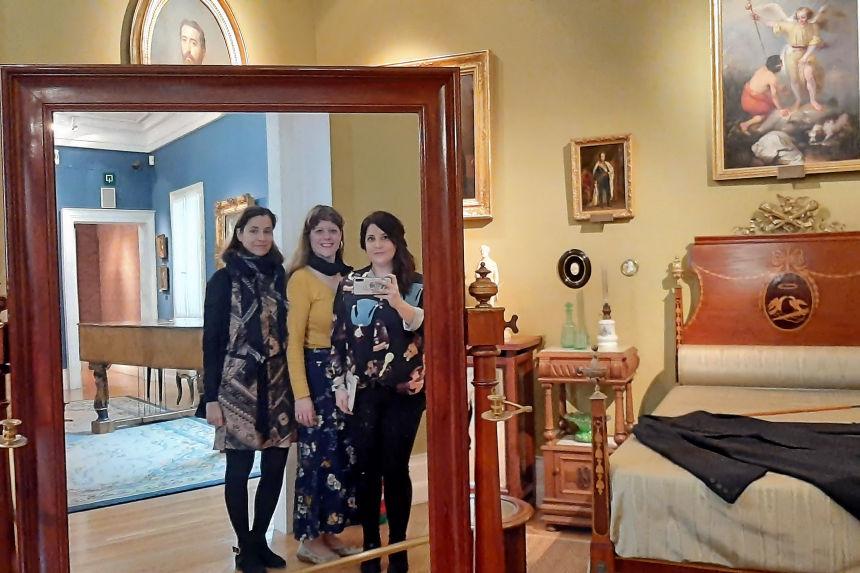visita al Museo del Romanticismo
