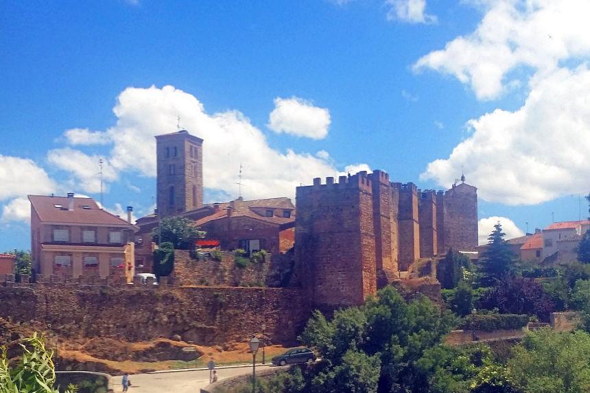 vista de Buitrago del Lozoya