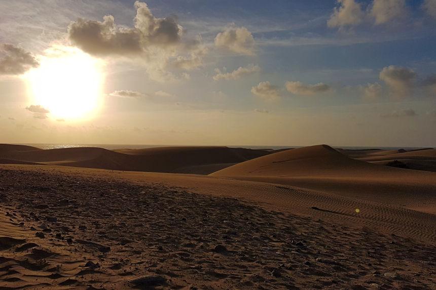 conservación de las dunas de Maspalomas