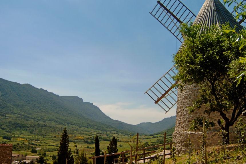 Molino de viento D'Omer