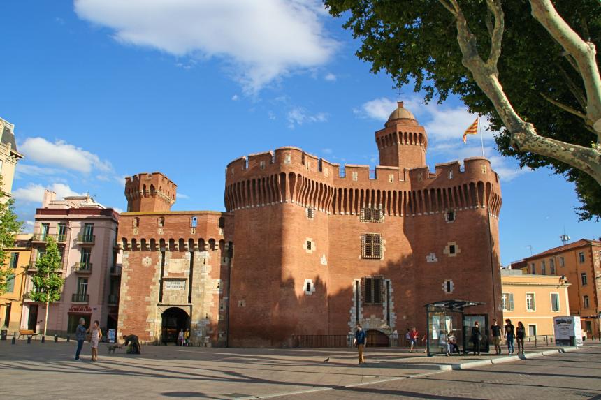 Perpignan, la puerta de entrada al País Cátaro