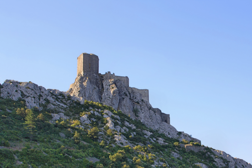 Castillo de Quéribus, el último reducto cátaro del sur de Francia