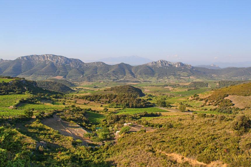 ruta al castillo de Quéribus desde Perpignan