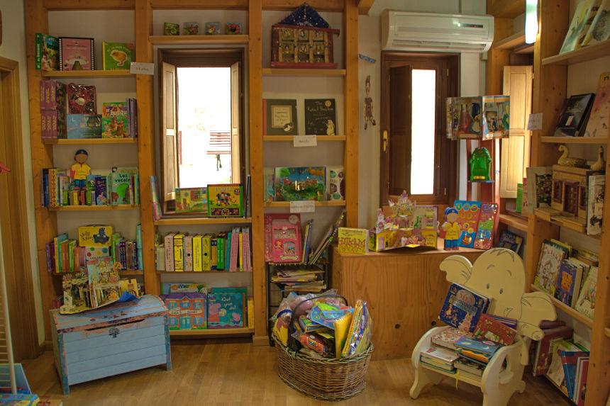 librería infantil en Urueña