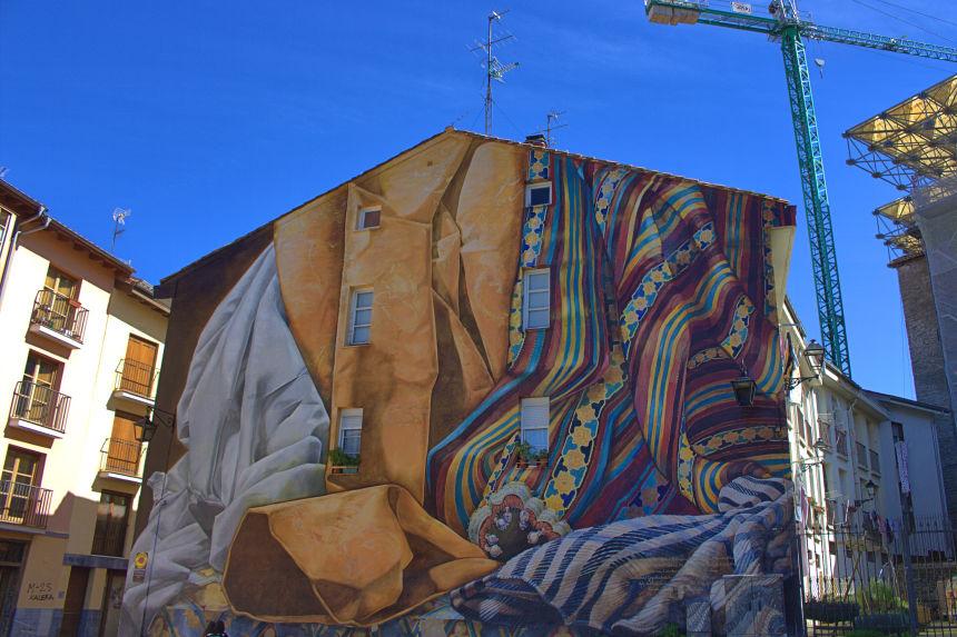 """Mural """"Al hilo del Tiempo"""""""