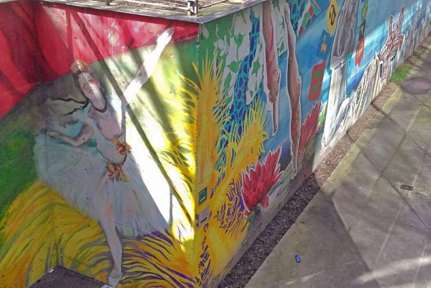 """Mural """"Somos Agua / Somos Arte"""""""