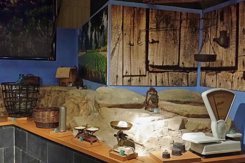 básculas del Museo de la Judía