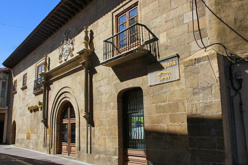 Palacio Villalobos- Solorzano en Aguilar de Campoo
