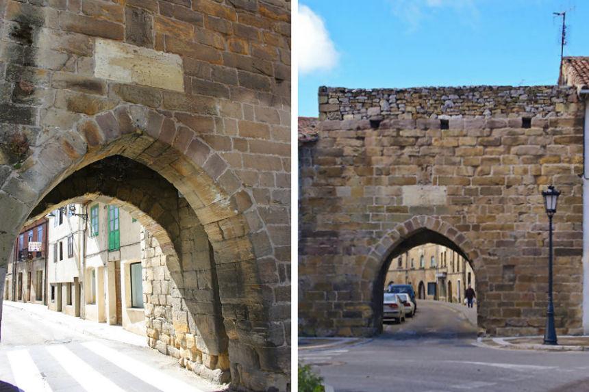 Puerta de Reinosa en Aguilar de Campoo