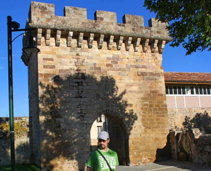 Puerta del Paseo Real, Puerta de Santa María o Puerta de la Barbacana