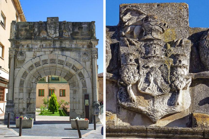 Puerta del Palacio de los Villatorre
