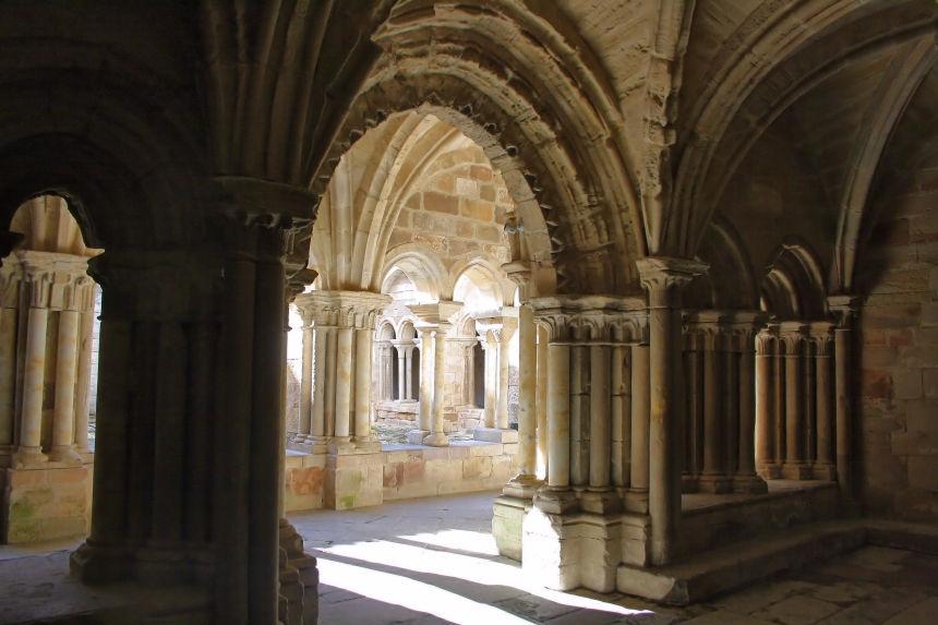 Santa María la real en Aguilar de Campoo