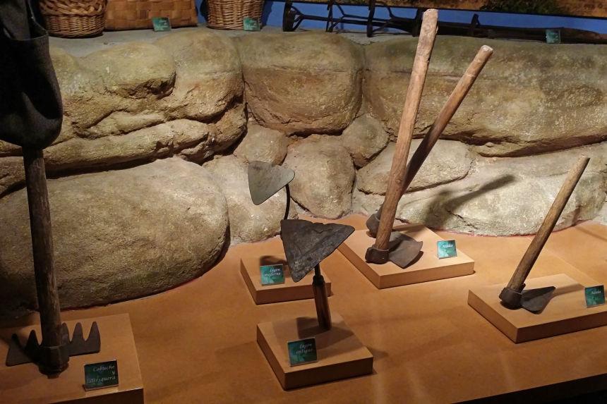 herramientas de arado del Museo de la Judía