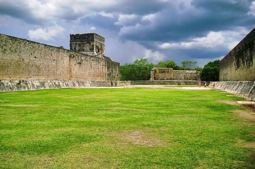 juego de pelota de Chichén Itzá
