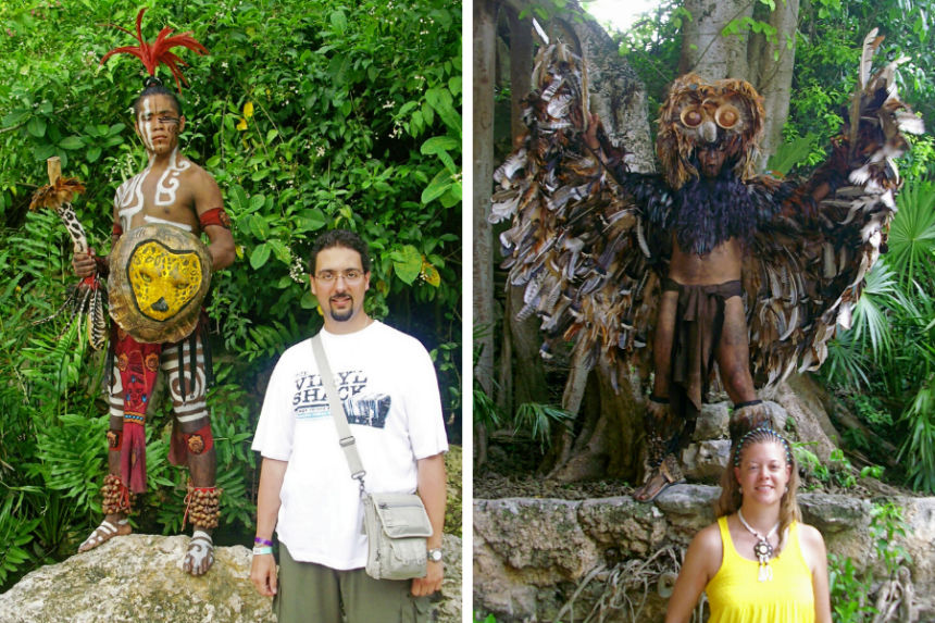 mapaymochila pinceladas de historia de Riviera Maya