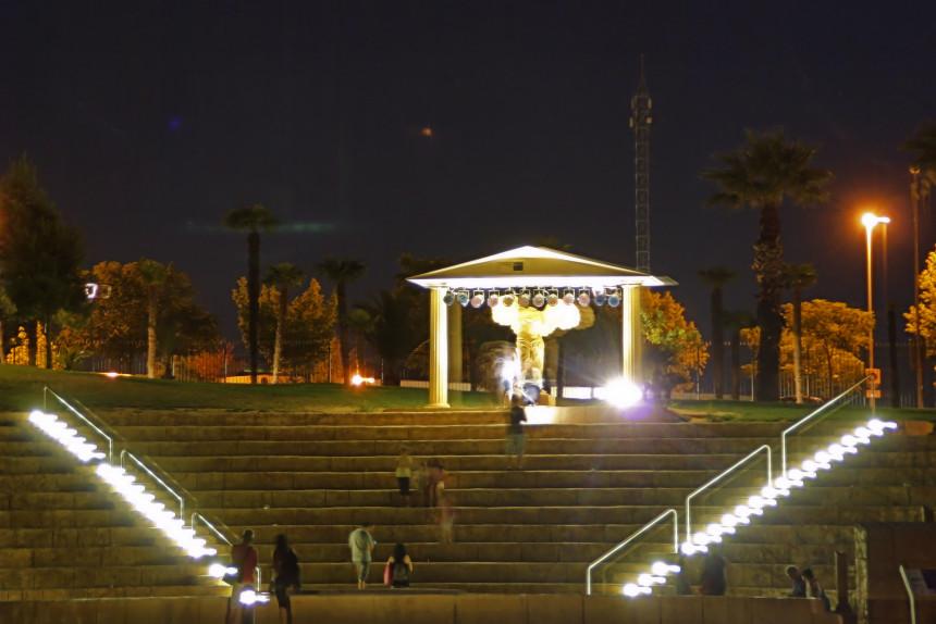 Anfiteatro griego en el Parque Europa
