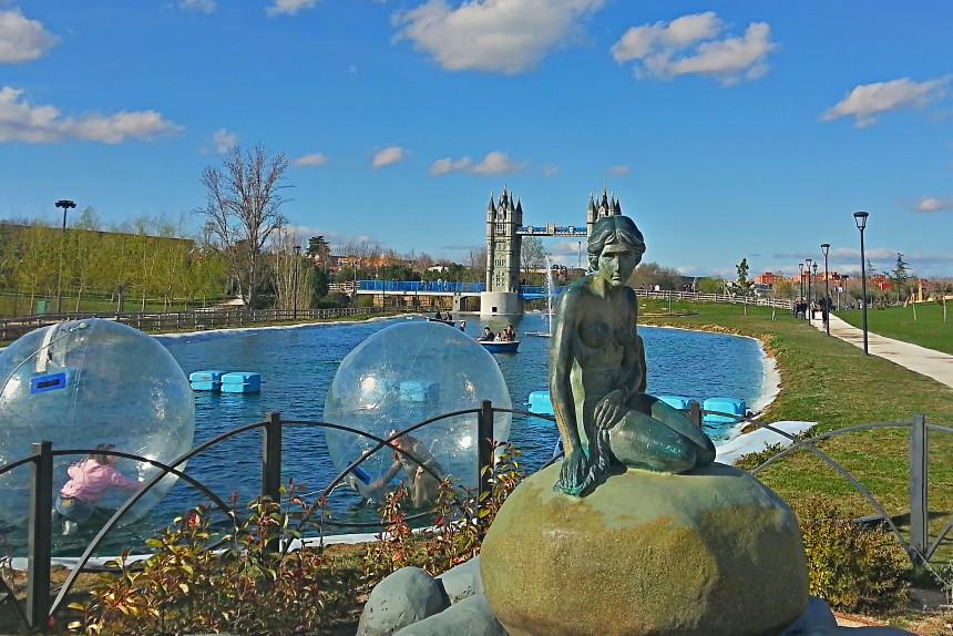 Parque Europa de Torrejón, uno de los mejores planes gratis en Madrid