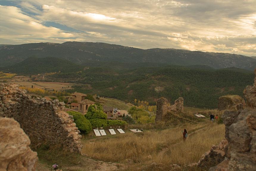 cementerio y antiguo castillo