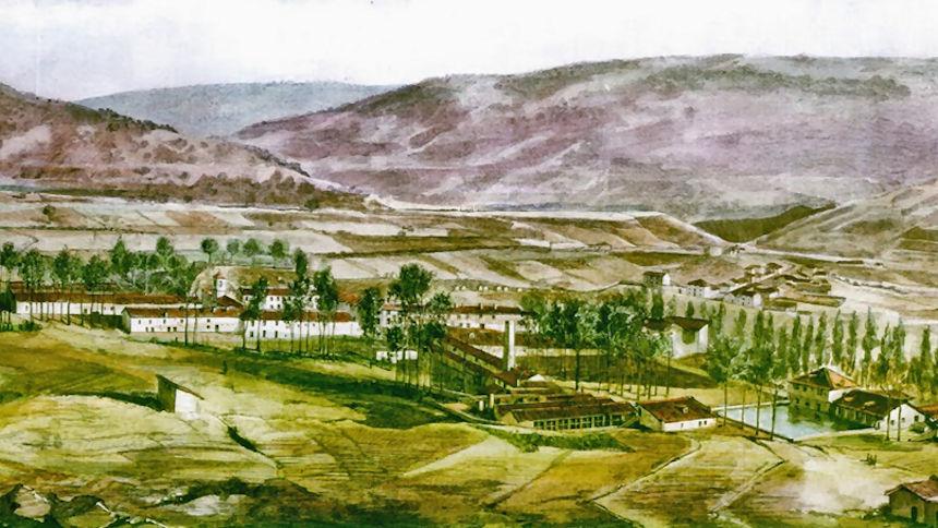 Fabricas de Riópar en 1889