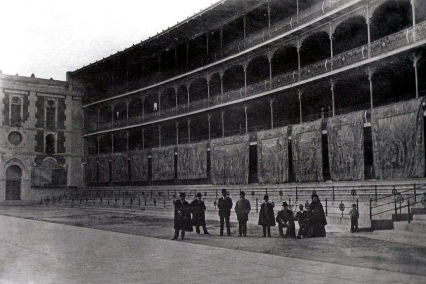 fronton Beti Jai en 1900