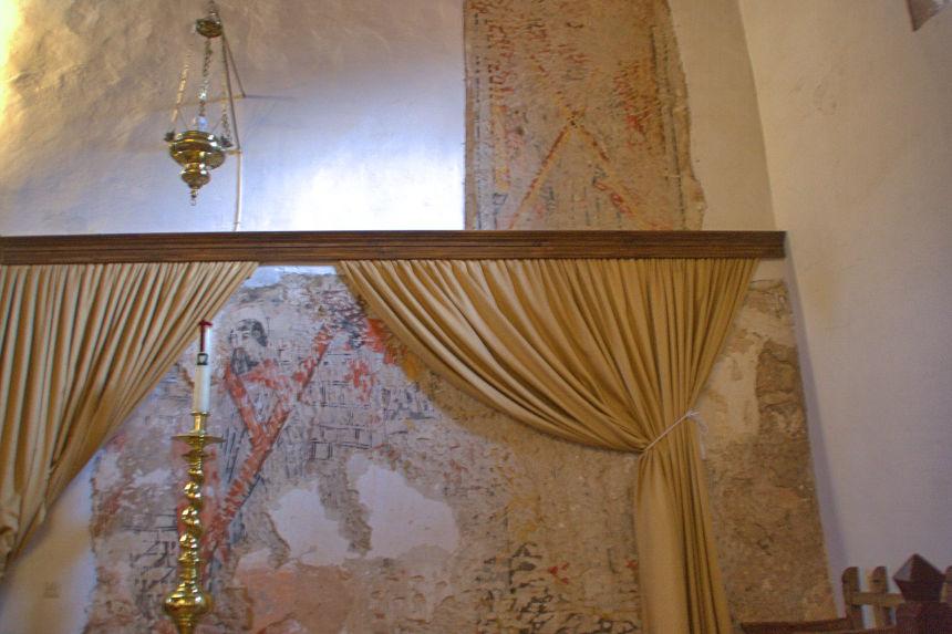 frescos de la iglesia del Espíritu Santo