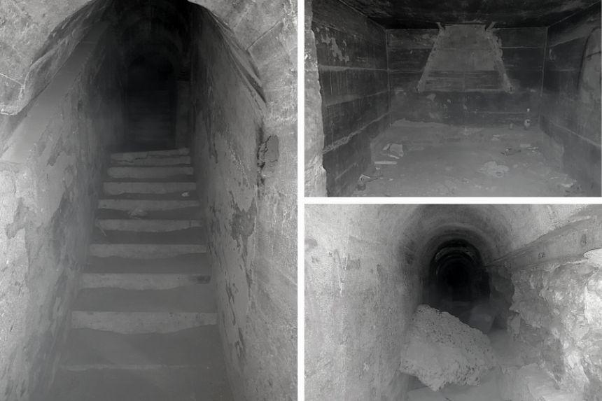 interior de un fortín