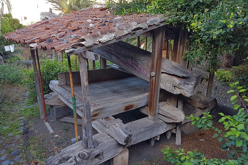 lagar de la hacienda de San Juan Degollado