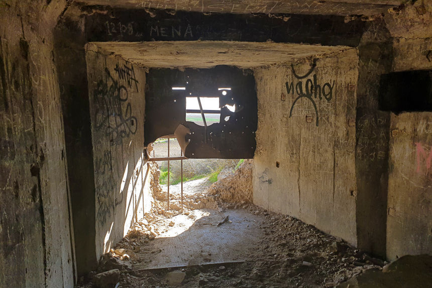 puerta del bunker de la Marañosa 1