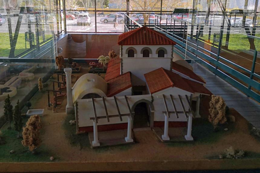reconstrucción de la Casa de Hippolytus