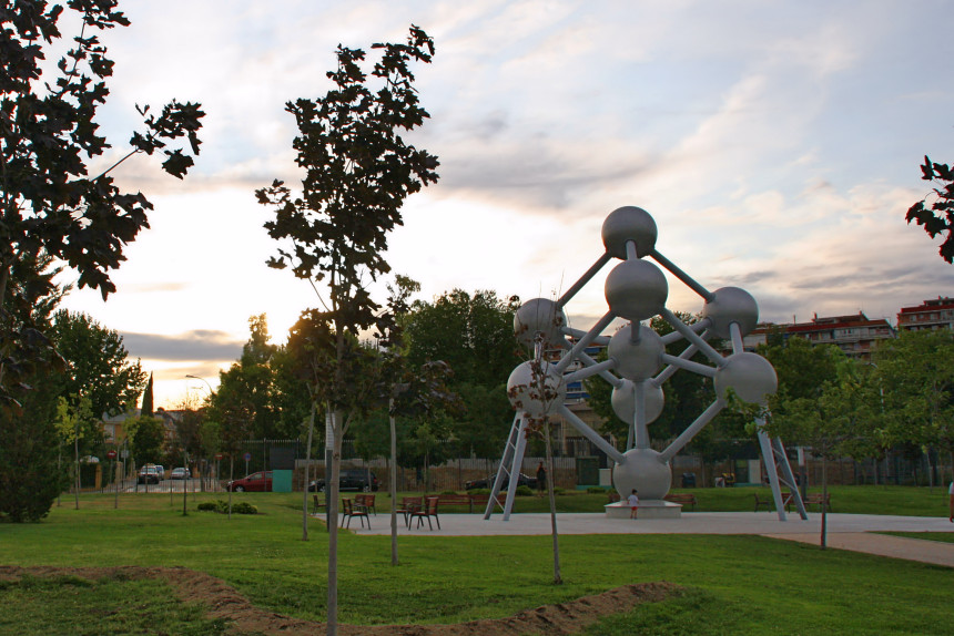 réplica del Atomium