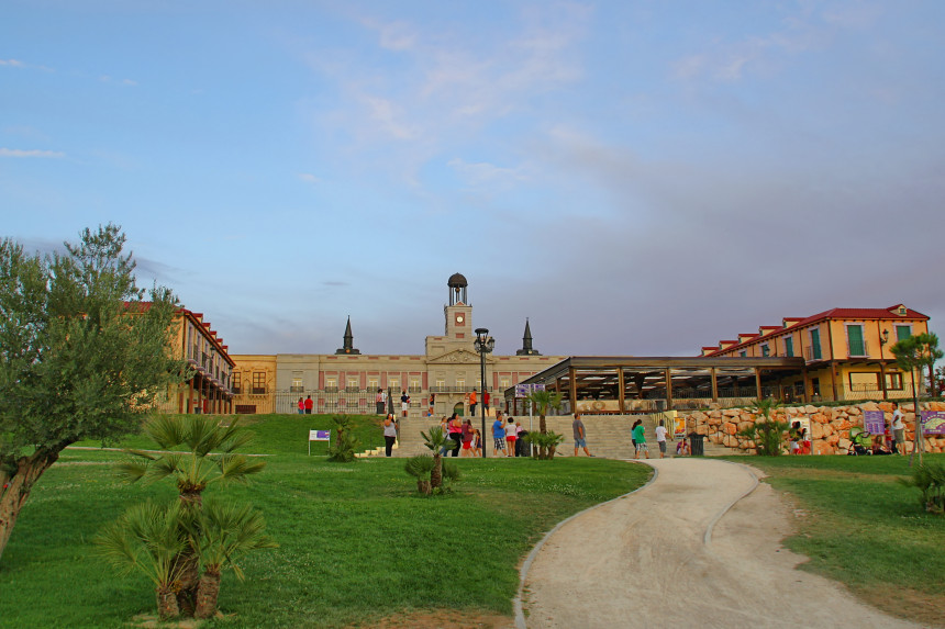 replicas de Plaza de España