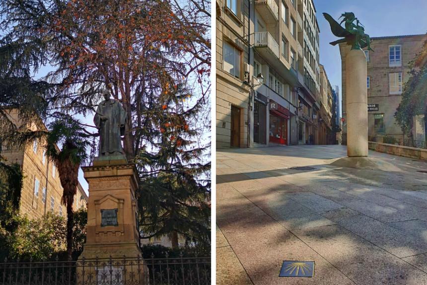 Esculturas de Ourense