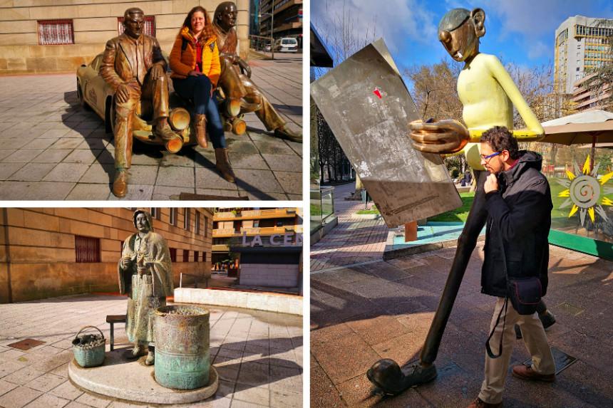 Estatuas de Ourense