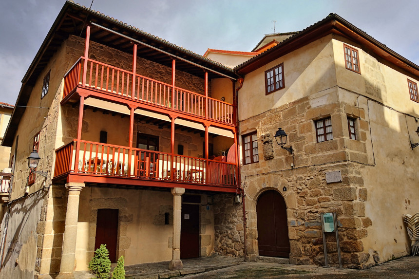 palacio de los Armada o Casa de María Andrea en Ourense